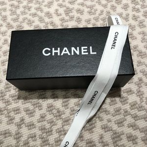 Chanel Sunglass Box with Ribbon - NEW!